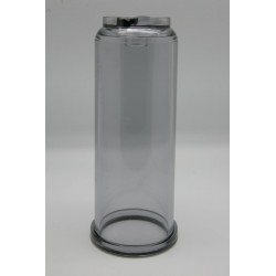 Vaso transparente 9 3/4pul.
